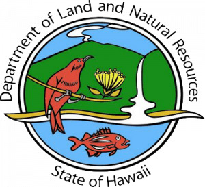 DLNR Hawaii State Department of Land and Natural Resources logo
