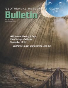 Geothermal Resources Council GRC Council Magazine cover