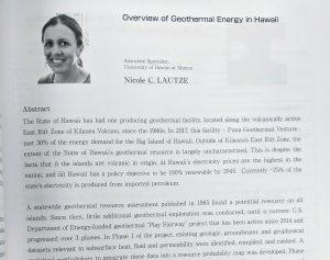 Nicole Lautze Energy Week 2020 Kyushu University