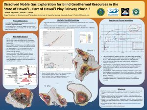 Geothermal Resources Council Fall Meeting 2019 Colin Ferguson Poster Conference