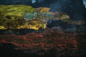 Puna Geothermal Venture lava 2018 Kilauea eruption