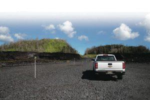 Puna Geothermal Venture road kipuka