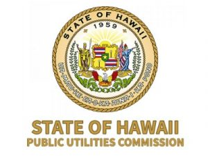 State of Hawaii Public Utilities Commission Logo