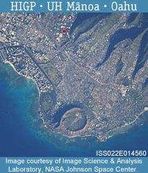 Placeholder Photo Of Oahu From Space.