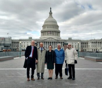 Dr. Hope Ishii (center) With Scientists In Washington D.C.