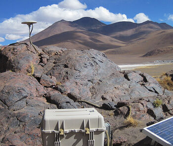Jonathan Weiss (2016 PhD HIGP/Geology And Geophysics Published Paper With HIGP Personnel. Here He Is Working In South America.