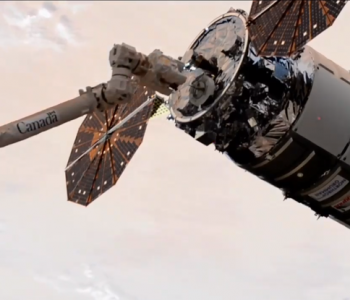 Cygnus-14 Is Captured By The International Space Station, October 5, 2020