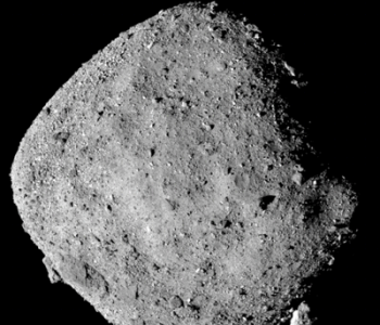Image Of Bennu Captured By The OSIRIS-REx Polycam Instrument, In December 2018